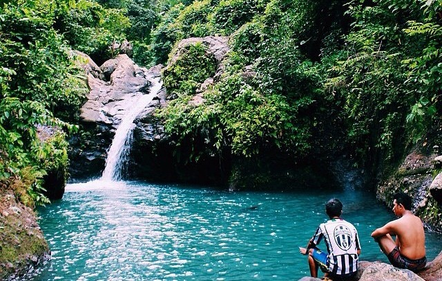 Lokasi Air Terjun Tibu Ijo, Lombok Barat