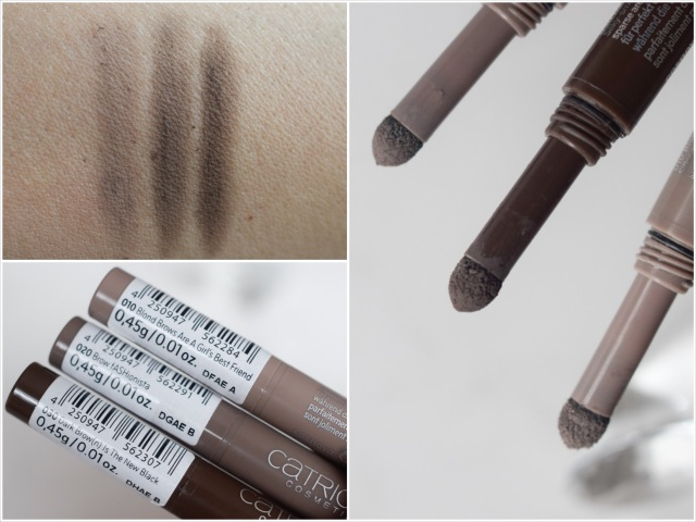 catrice, sortimentsupdate, 2016, Velvet Brow Powder Artists, swatch