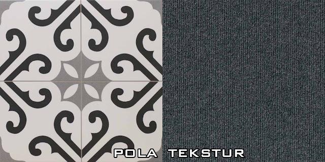 Perbedaan Pola dan Tekstur dalam Desain (Pattern vs Texture)