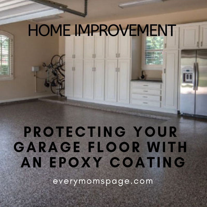 Protecting Your Garage Floor with an Epoxy Coating