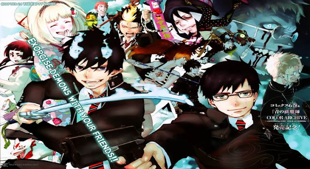 Sousei no Onmyouji dan Ao no Exorcist sama-sama anime tentang onmyoji