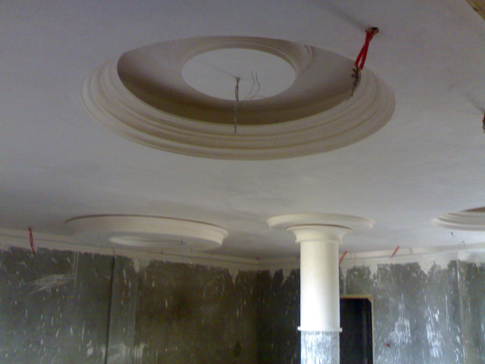 Platre for Staff plafond moderne