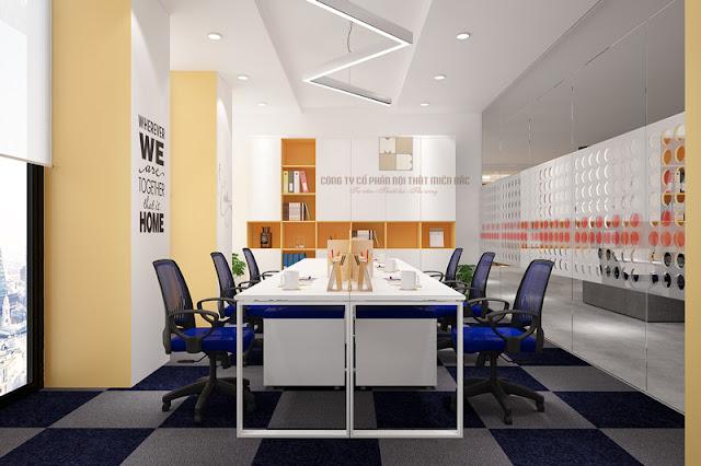 Tiết kiệm kinh phí khi thiết kế nội thất văn phòng hiện đại - H1