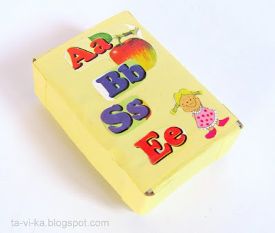алфавит в коробке