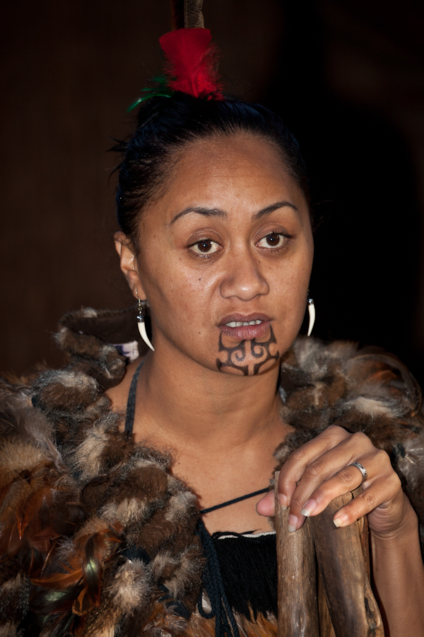 Maori Face Tattoo Female: What Karen Sees: Maori Body Art