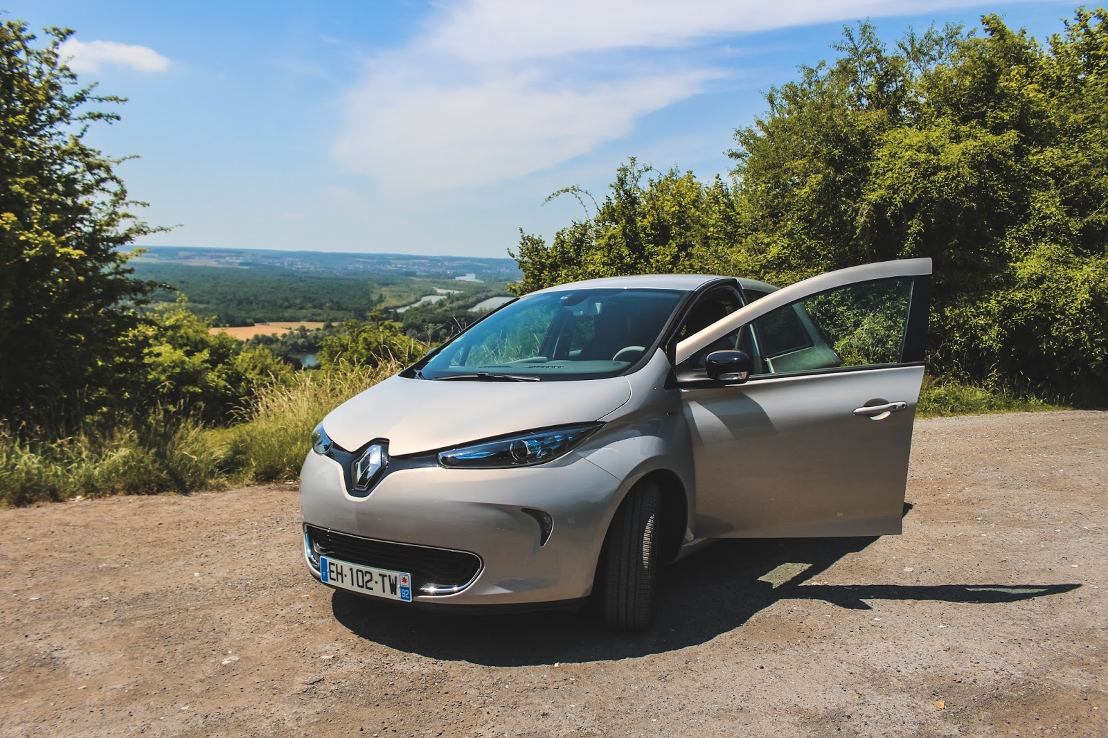 test renault zoé edition one venus is naive voyage presse