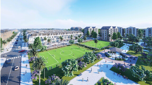 Bán đất sổ đỏ TP Đồng Xoài, Bình Phước: Phối cảnh dự án đất nền Cát Tường Phú Hưng