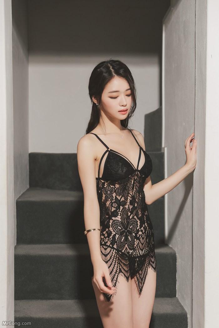 Image Korean-Model-Hee-012018-MrCong.com-004 in post Người đẹp Hee trong bộ ảnh nội y tháng 01/2018 (167 ảnh)