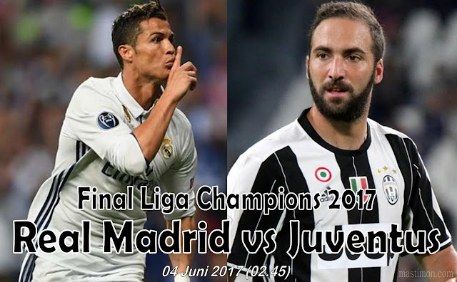 Prediksi Final Liga Champions 2017 | Juventus vs Real Madrid 04 Juni 2017