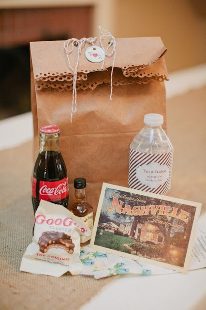 Miriam Ackerman Events Welcome Bags for your out of town