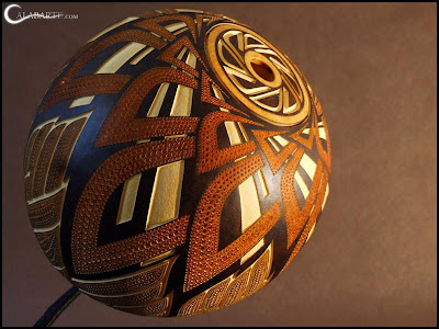 Creative and Cool Gourd Lamps (14) 3