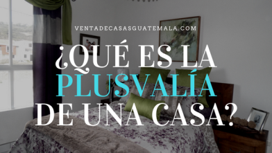 Plusvalía Casas