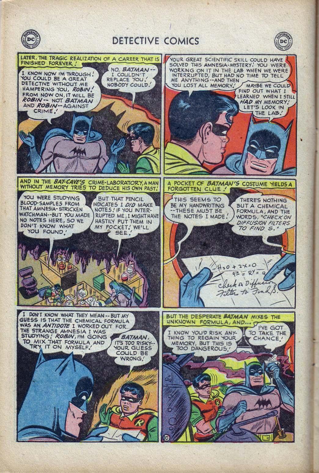 Read online Detective Comics (1937) comic -  Issue #190 - 12