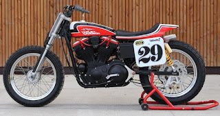 hooligan tracker sportster flat track by bckustoms side left