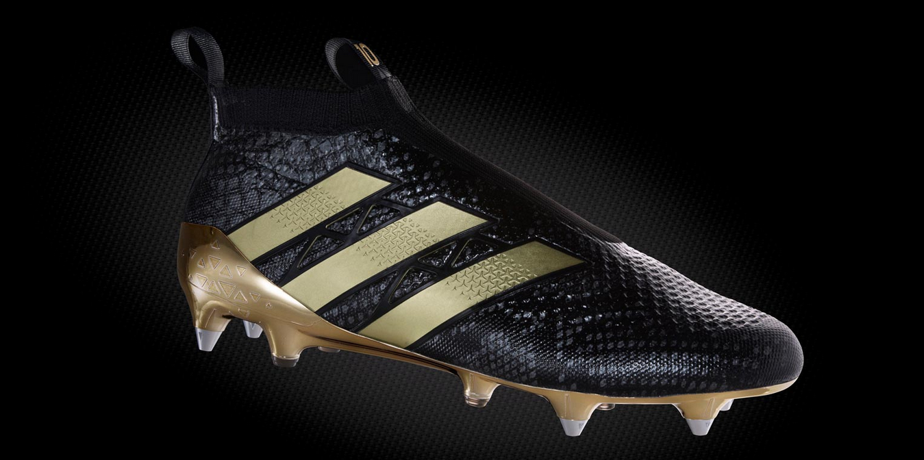 new style 58f11 447c9 Sportscleatscheap.com: Black & Gold Adidas Ace PureControl ...