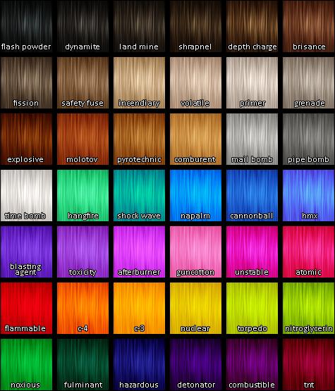 My Sims 4 Blog: Sims 4 Unnatural Hair colors by KokoroBeat