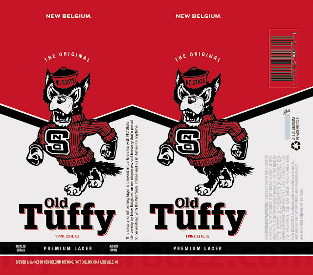 New Belgium Adding Old Tuffy 19.2oz Cans For NC State