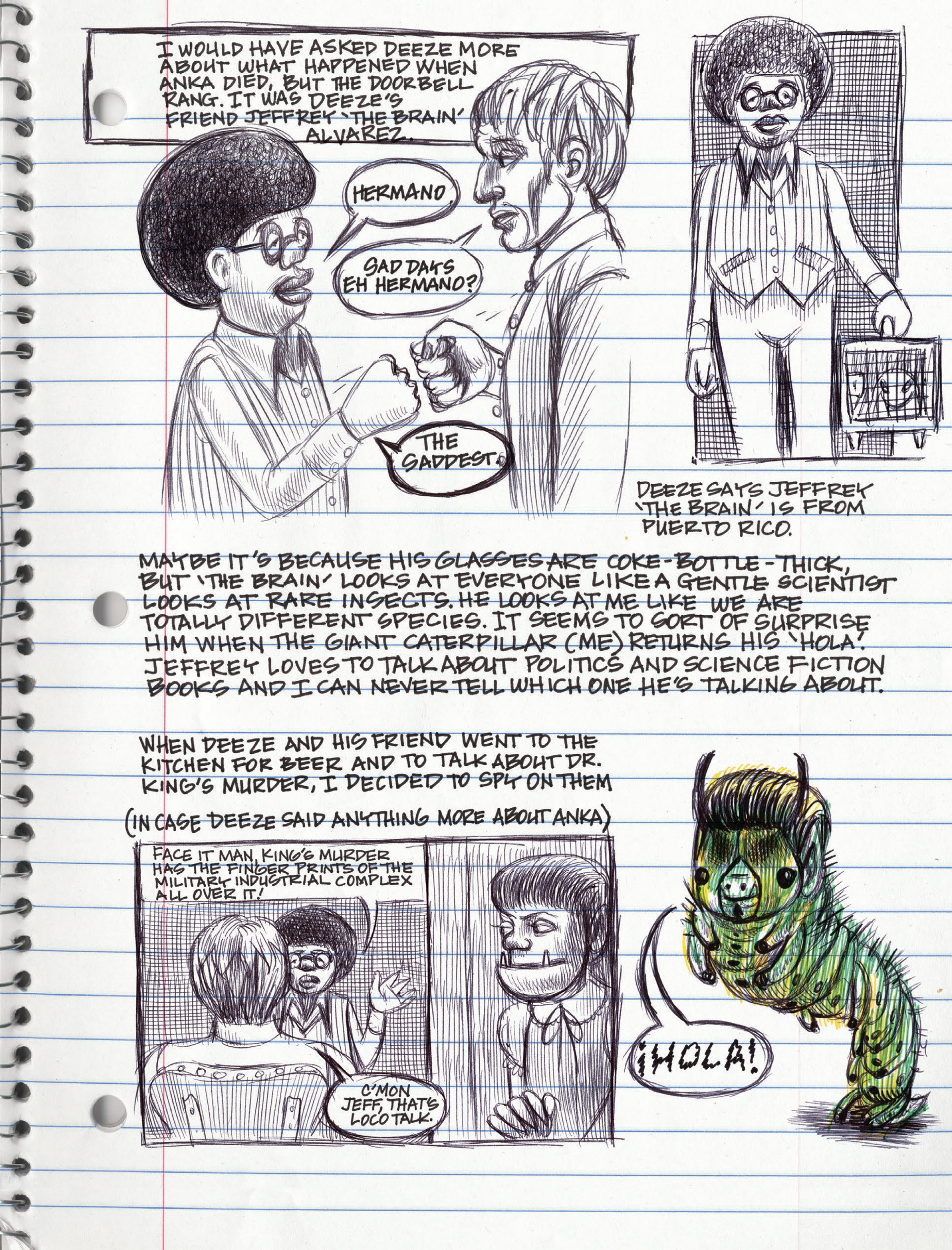 Read online My Favorite Thing is Monsters comic -  Issue #1.5 - 97