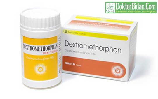 Dextromethorphan - Dosis Indikasi Cara Memaakai Efek Samping dan Manfaat Untuk Meredakan Batuk Yang Akut