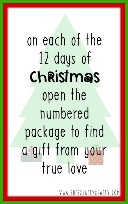 12 days of Christmas gift idea for children
