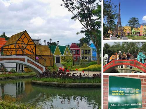 Devoyage Wisata Selfie Bertema Miniatur Kampung Eropa Di