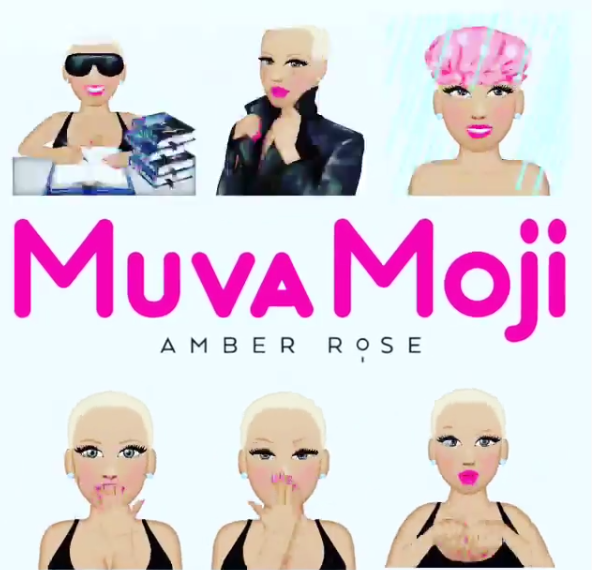 Amber Rose Launches Her Own Emoji Realtainment Blogspot