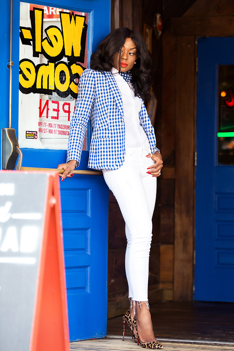 gingham for July fourth, www.jadore-fashion.com