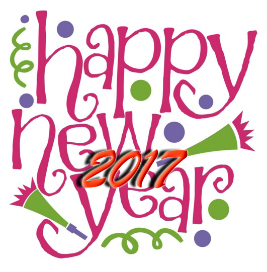 Happy New Year 2017 Clip Art