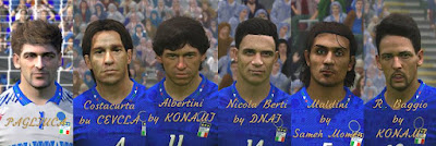 PES 2017 PES Legends Patch by DNAI