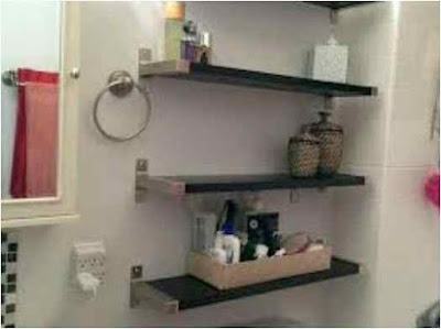 Bathroom Shelf Ideas Target