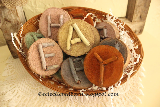 Eclectic Red Barn: Easter Wooden Letters