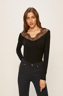 Bluza femei cu insertii dantela