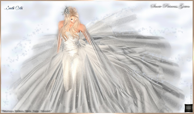 SASCHA'S DESIGNS - Snow Princess Gown