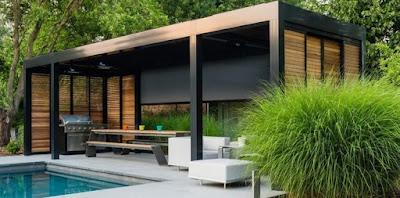 teras rumah minimalis