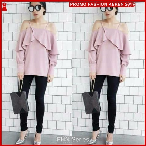 FNH186 Grosir Blouse Maudy Blouse Perempuan SW Dusty