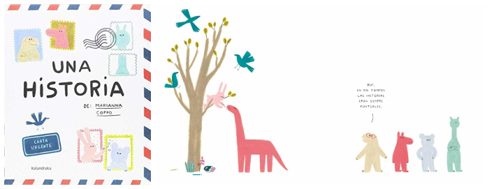 cuento infantil niños 3 a 5 años Una historia Kalandraka