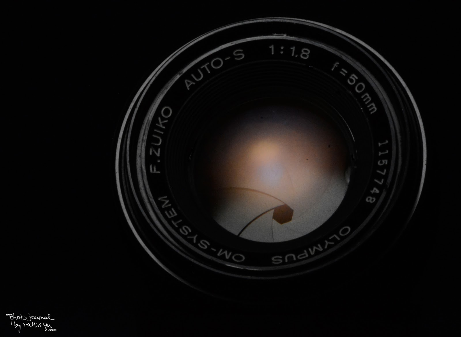 Olympus F.Zuiko Auto-S 50mm f/1.8 (Converted to Nikon Mount!)