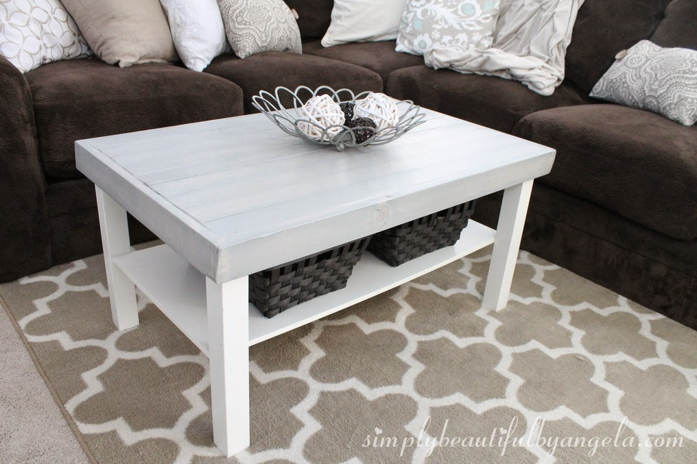 simply beautiful by angela ikea lack coffee table hack. Black Bedroom Furniture Sets. Home Design Ideas