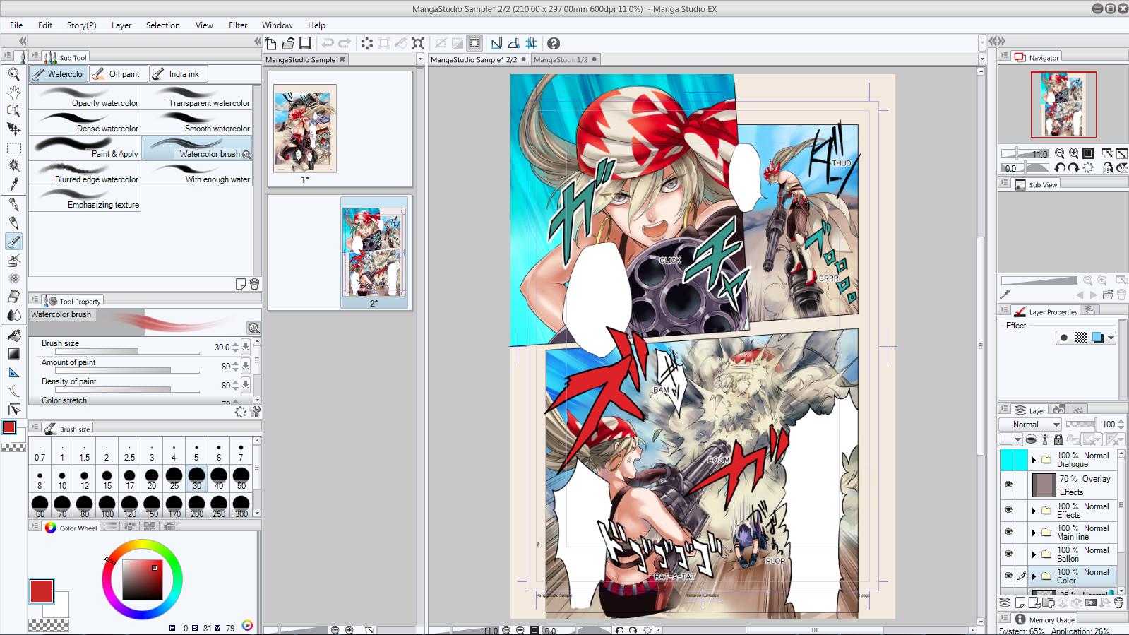 Hey Comic Artists! MANGA STUDIO 5 EX Has Arrived!   Forces ...
