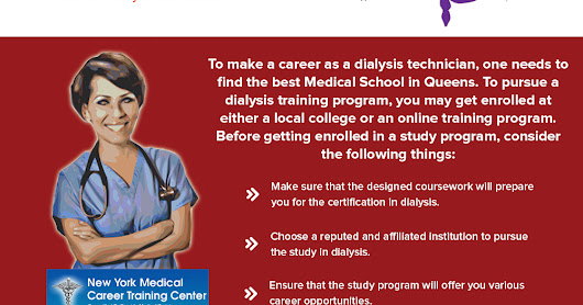 A Quick Reference Guide For Aspiring Dialysis Technician