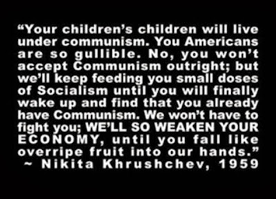 Image result for nikita khrushchev quotes about america