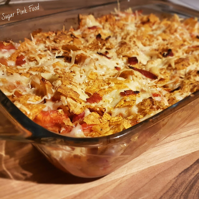 Slimming World Friendly Recipe: Fully Loaded Chicken Fajita Pasta Bake