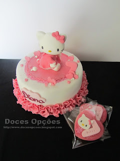 A Hello Kitty no 7º aniversário da Diana