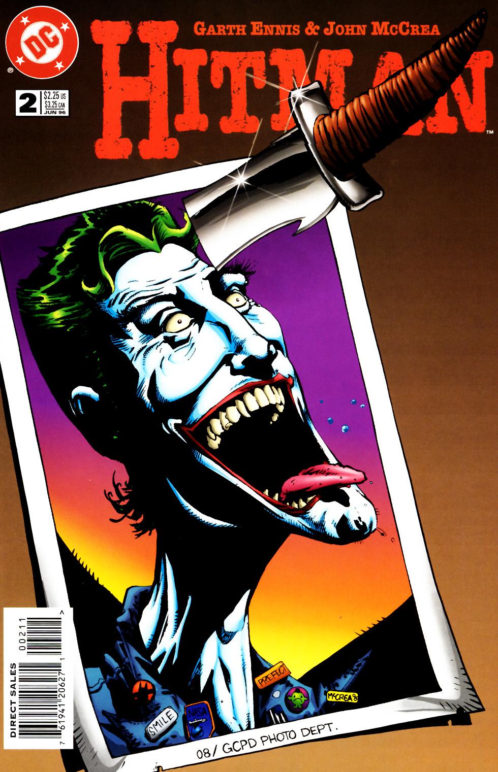 Comic Hitman Issue 6