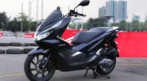 All New Honda PCX Hybrid.  Gambar dari Oto.com