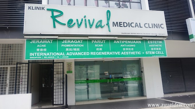 Rawatan Facial SilkPeel Dermalinfusion di Revival Medical Clinic
