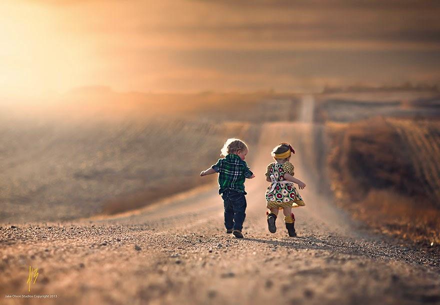 صور مذهلة لاطفال