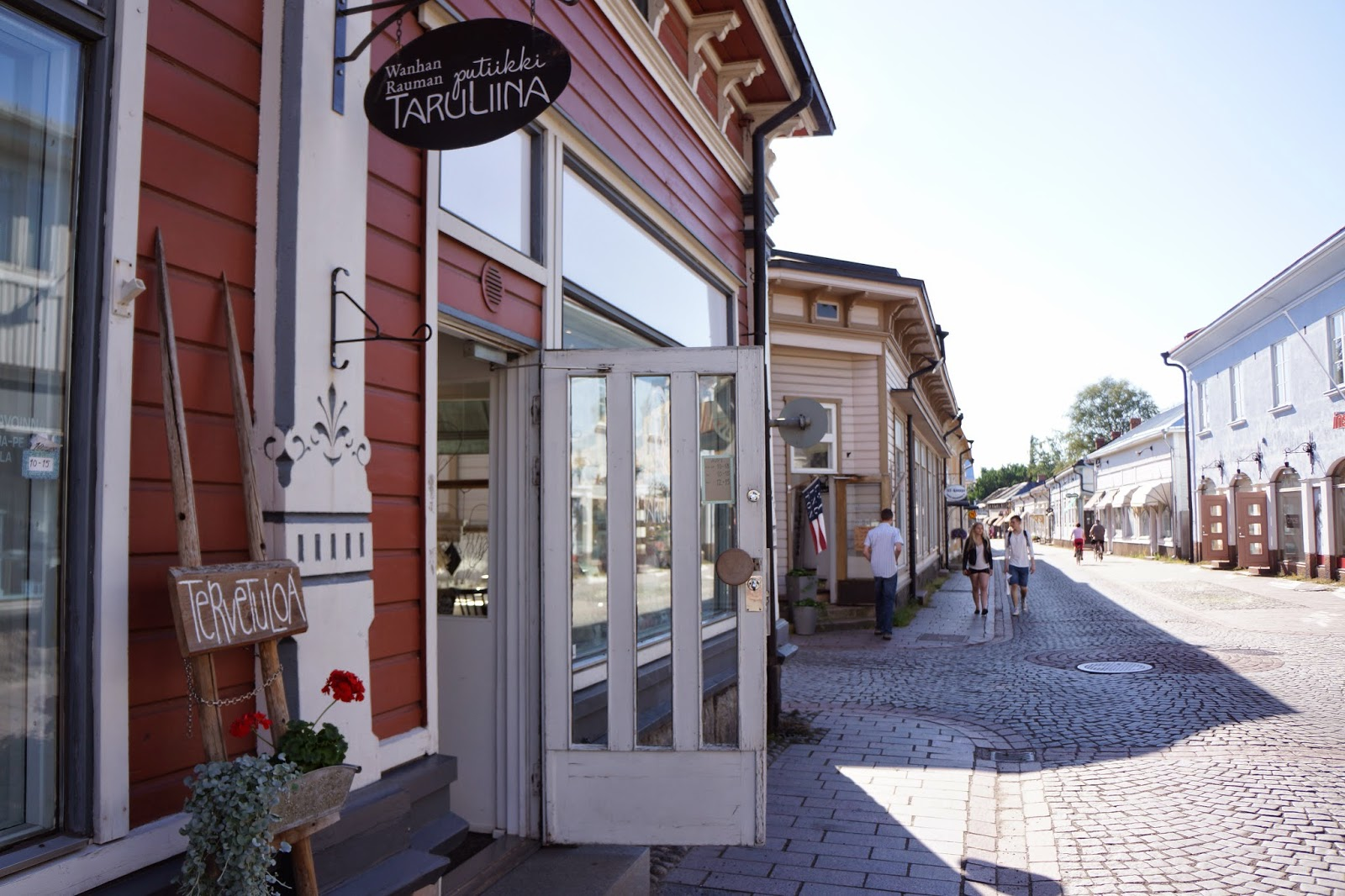 a boutique in old rauma