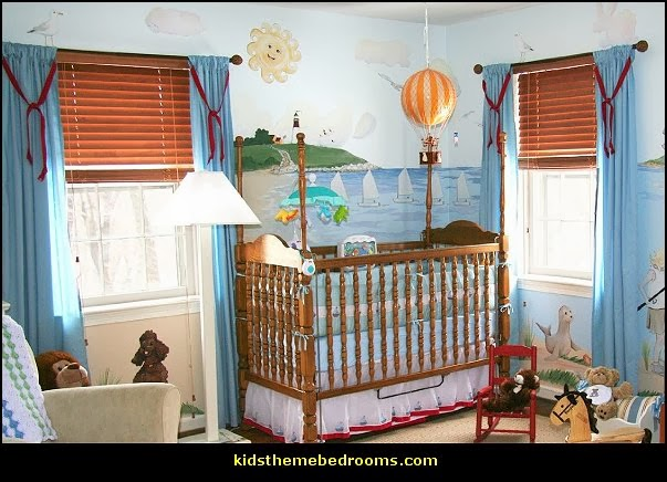baby bedrooms - nursery decorating ideas - girls nursery - boys nursery - baby bedding - themed baby bedrooms - theme ideas for baby nursery - baby rooms - baby bedroom theme ideas - themed nursery decorating ideas