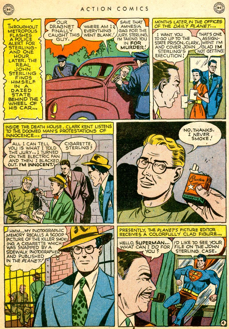Read online Action Comics (1938) comic -  Issue #126 - 6